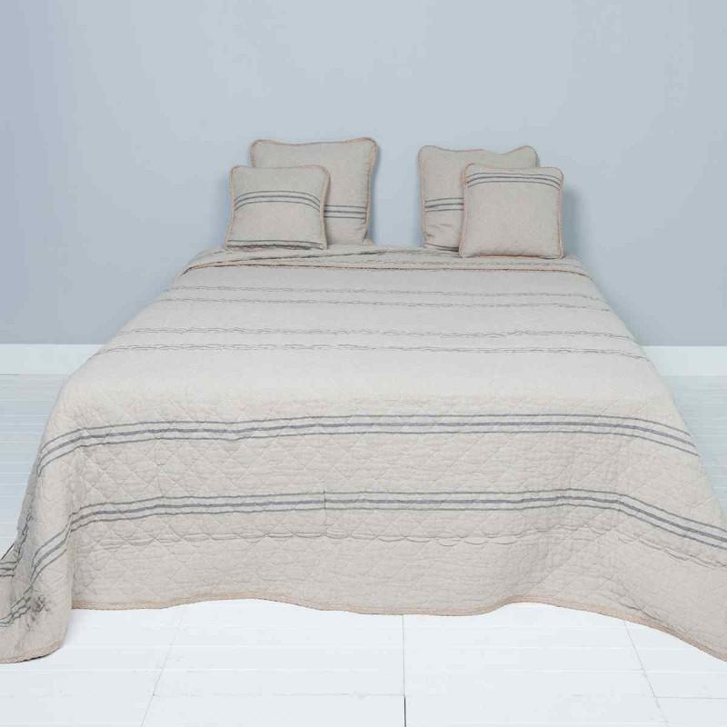 bett berwurf tagesdecke 140 x 220 cm clayre eef. Black Bedroom Furniture Sets. Home Design Ideas