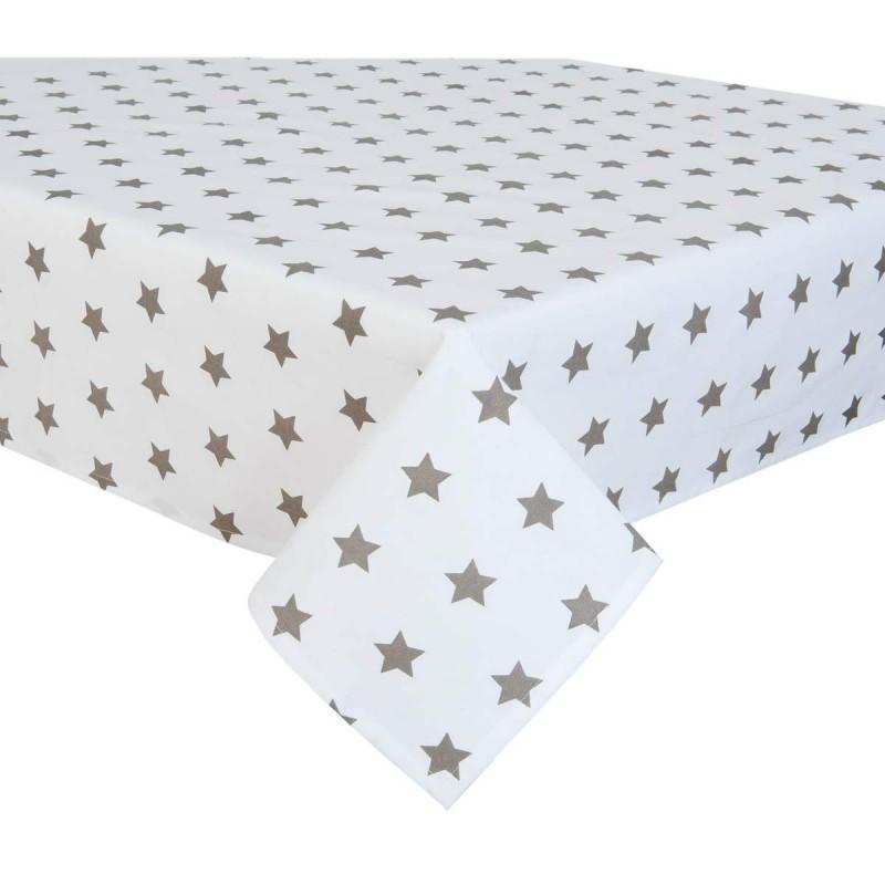 catch a star tischdecke taupe 150 x 150 cm clayre eef cas15tp. Black Bedroom Furniture Sets. Home Design Ideas