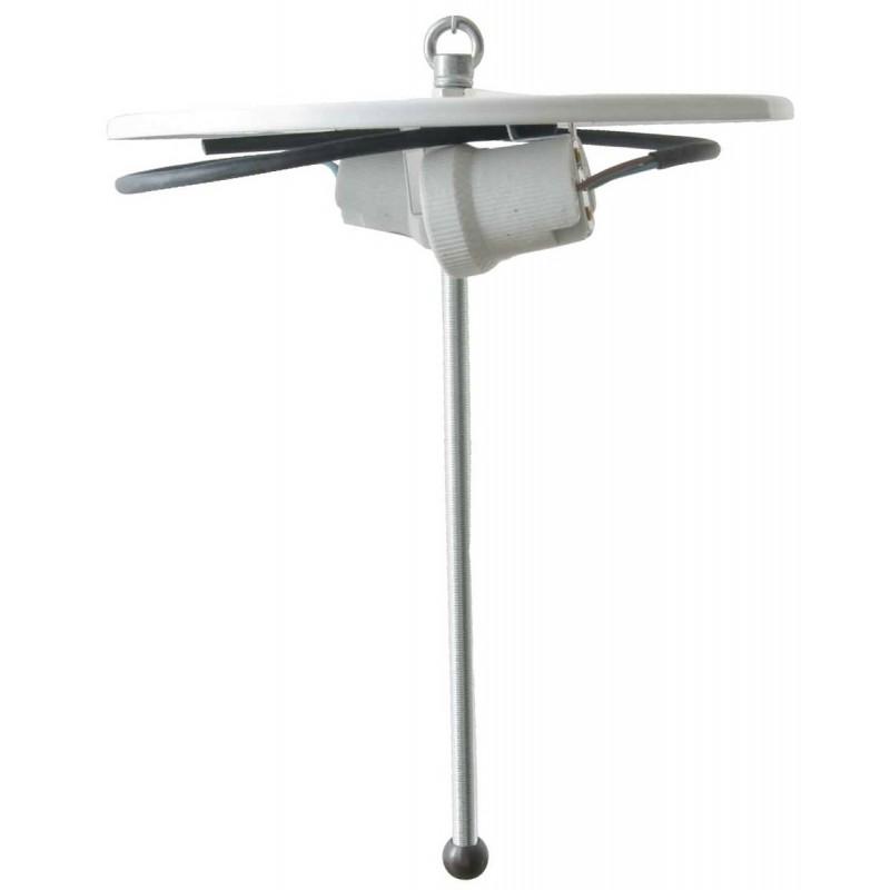 tiffany lampen deckenlampe halter wei f r lampenschirme i. Black Bedroom Furniture Sets. Home Design Ideas