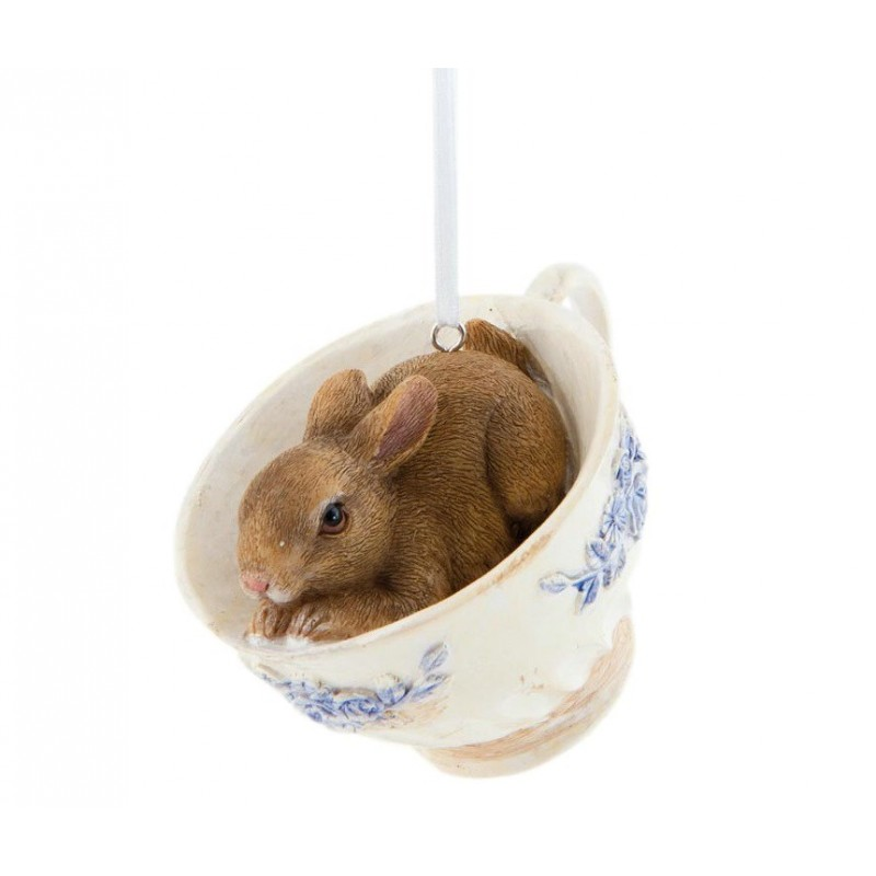 deko dekoration anh nger ostern hase kaninchen in tasse 9. Black Bedroom Furniture Sets. Home Design Ideas