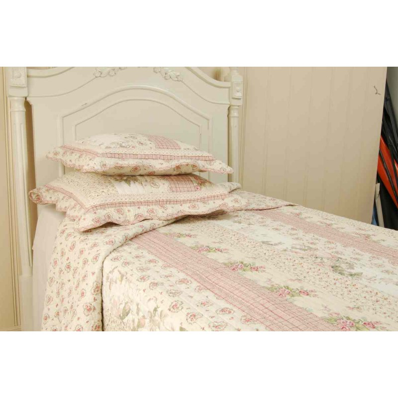 tagesdecke rosa 230 x 260 cm clayre eef 138 58. Black Bedroom Furniture Sets. Home Design Ideas