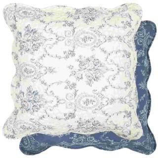 kissenh lle blau wei 50 x 50 cm clayre eef. Black Bedroom Furniture Sets. Home Design Ideas