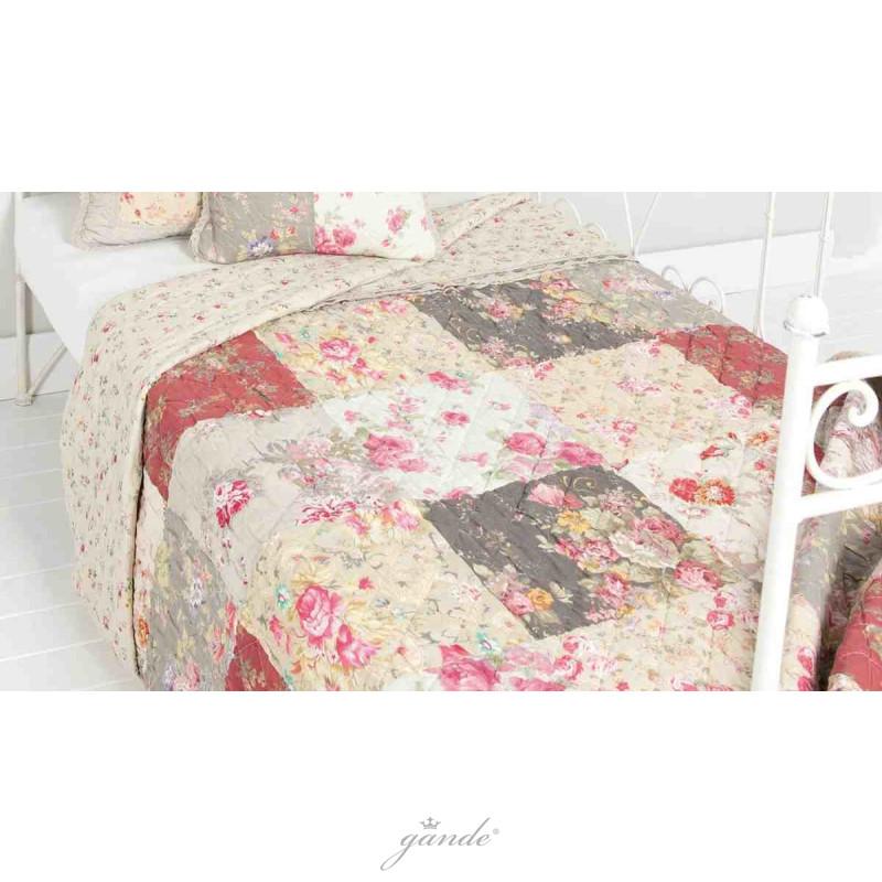 bett berwurf tagesdecke 140 x 220 cm clayre eef 68 75. Black Bedroom Furniture Sets. Home Design Ideas