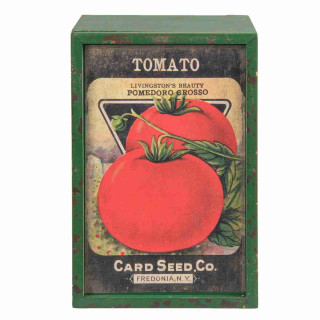Holzkiste Tomato 23 x 15 x 11 cm Clayre & Eef 6H1613