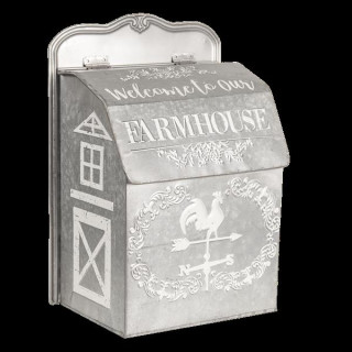 6Y3549 Farmhouse Postkasten Briefkasten Letter Box 26*16*37 cm Clayre & Eef